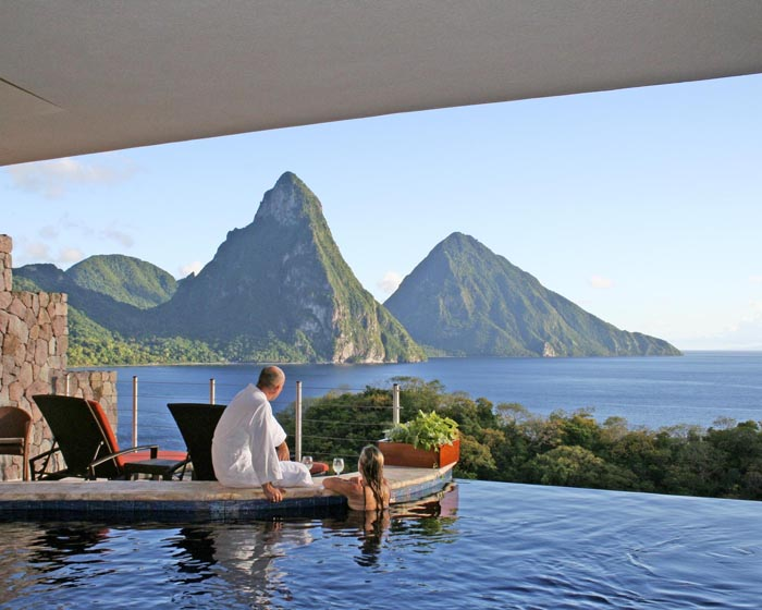 Сент-Люсия, Jade Mountain