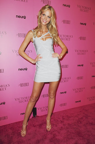 Erin Heatherton Herve Leger dress