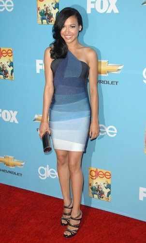 celebrity Herve Leger dress