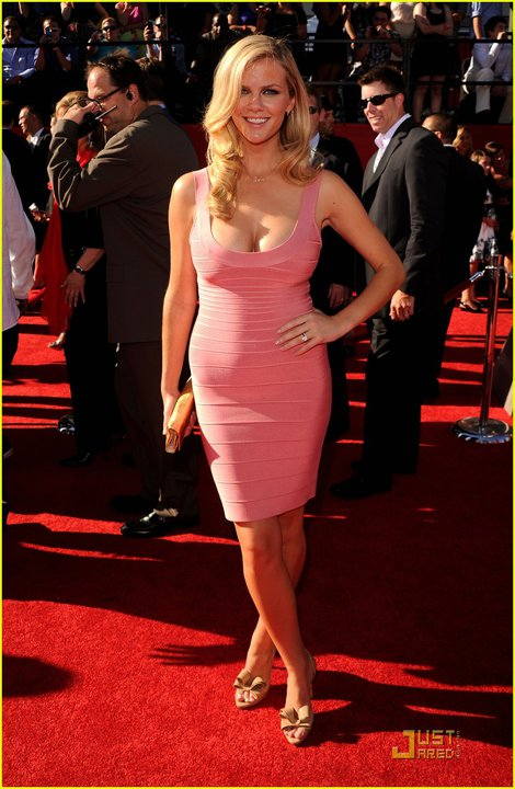 Brooklyn Decker Herve Leger dress