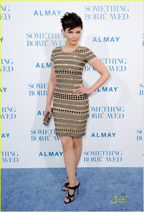 Ginnifer Goodwin Herve Leger dress