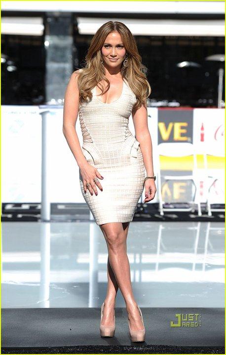Jennifer Lopez Herve Leger