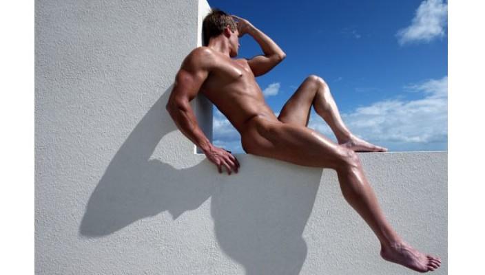 голый мужчина