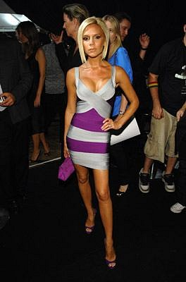 Victoria Beckham Herve Leger dress