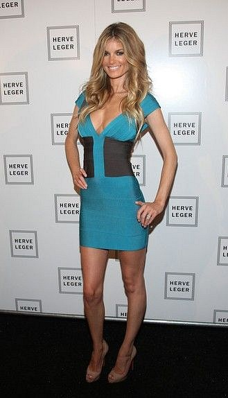 Herve Leger dresses celebrity