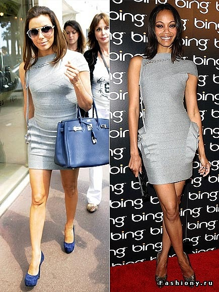 Herve Leger dress celebrity Eva Longoria