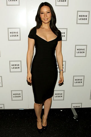 Herve Leger dress celebrity