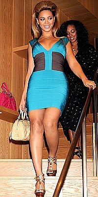 Beyonce Herve Leger dress
