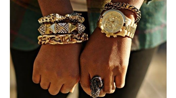 Массивные браслеты