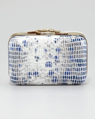 Neiman Marcus hard case clucth