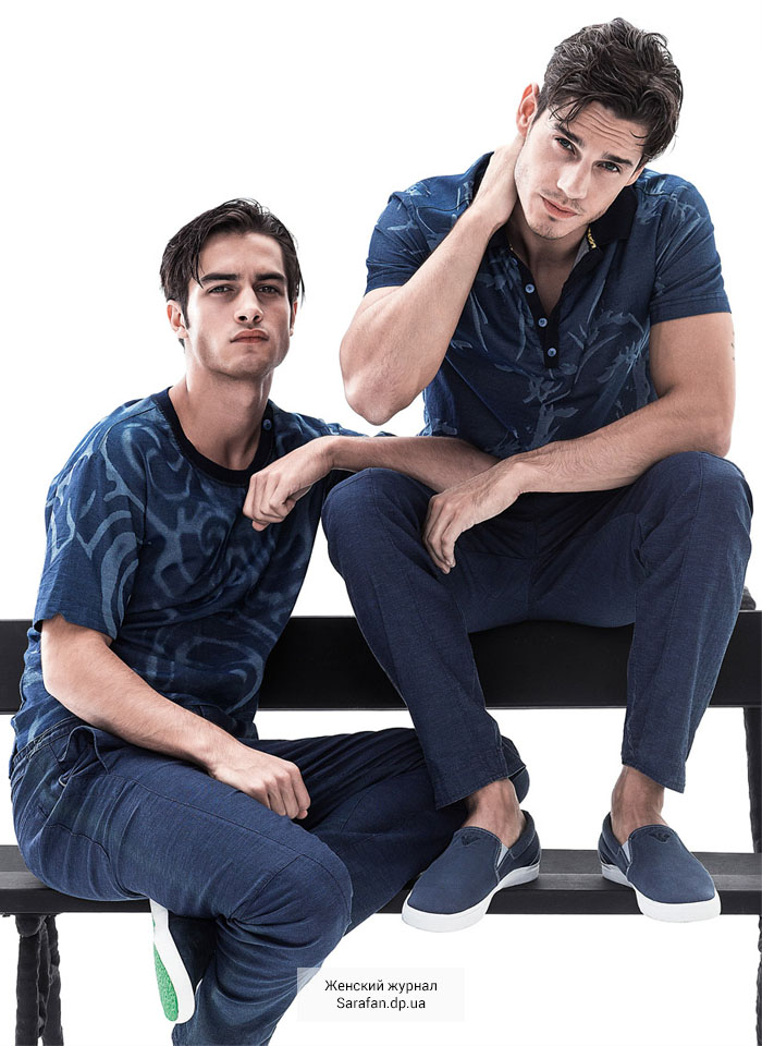 Armani Jeans man Spring Summer 2015