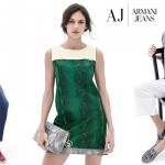 Armani Jeans Woman Collection SS-2015