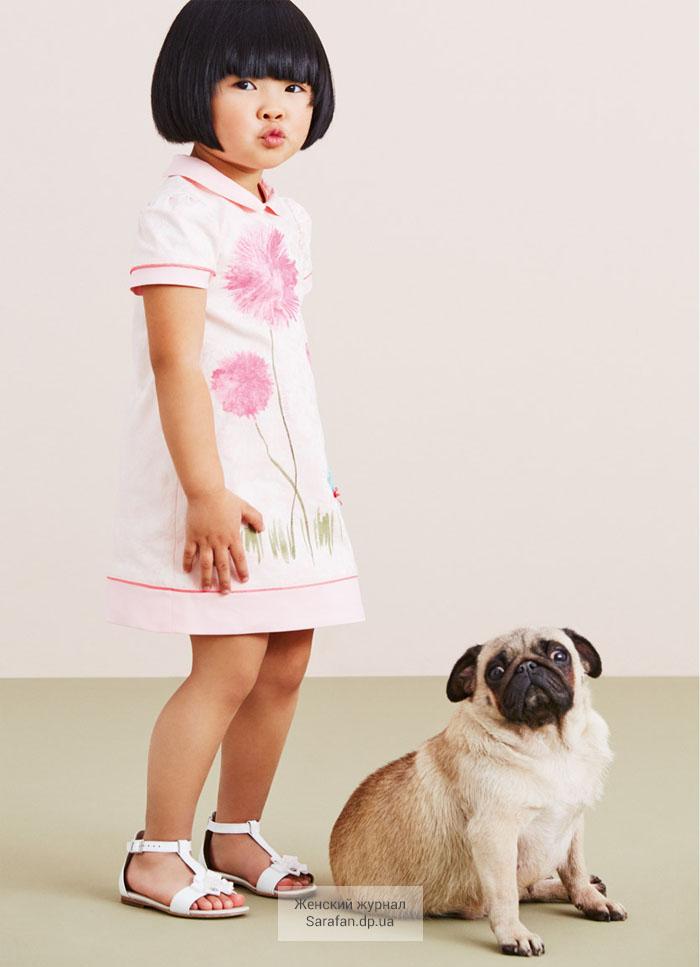 Armani Junior детская коллекция одежды весна лето 2015