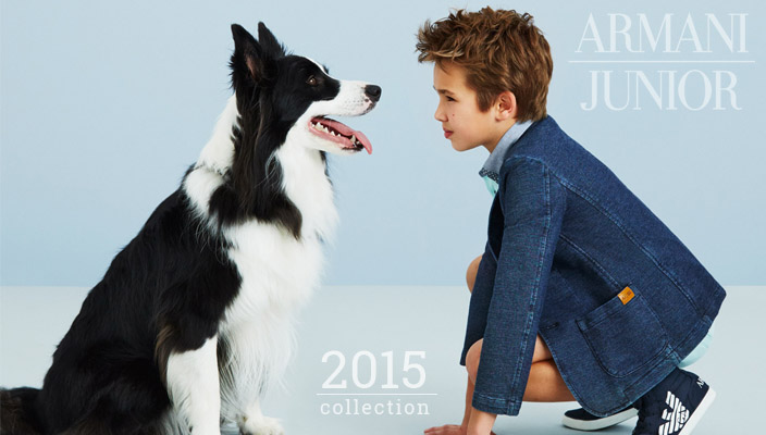 Armani Junior Spring Summer 2015