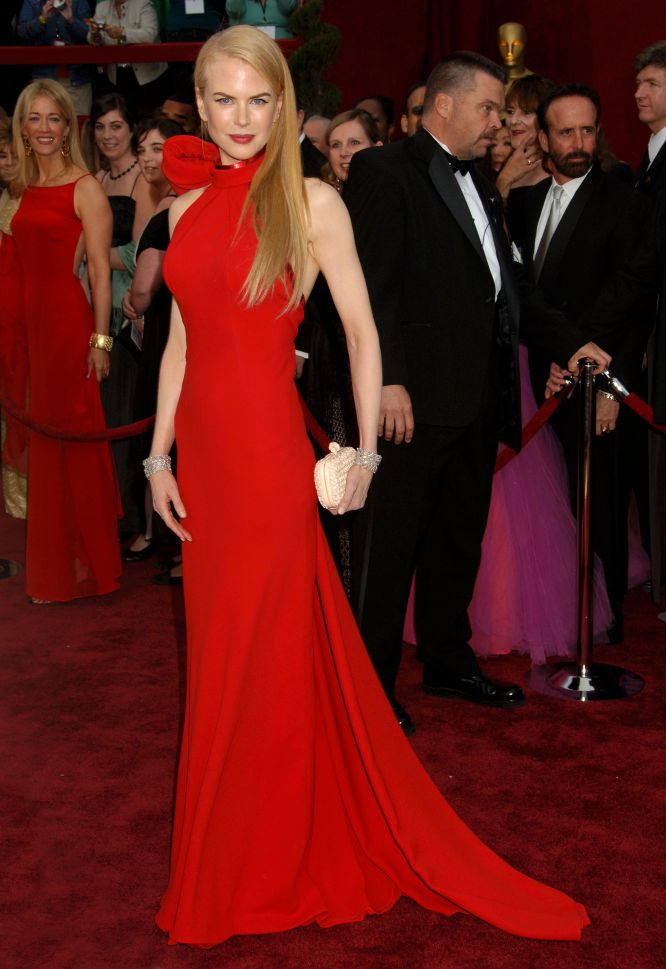 Nicole Kidman red dress