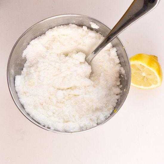 сода с лимонной цедрой
