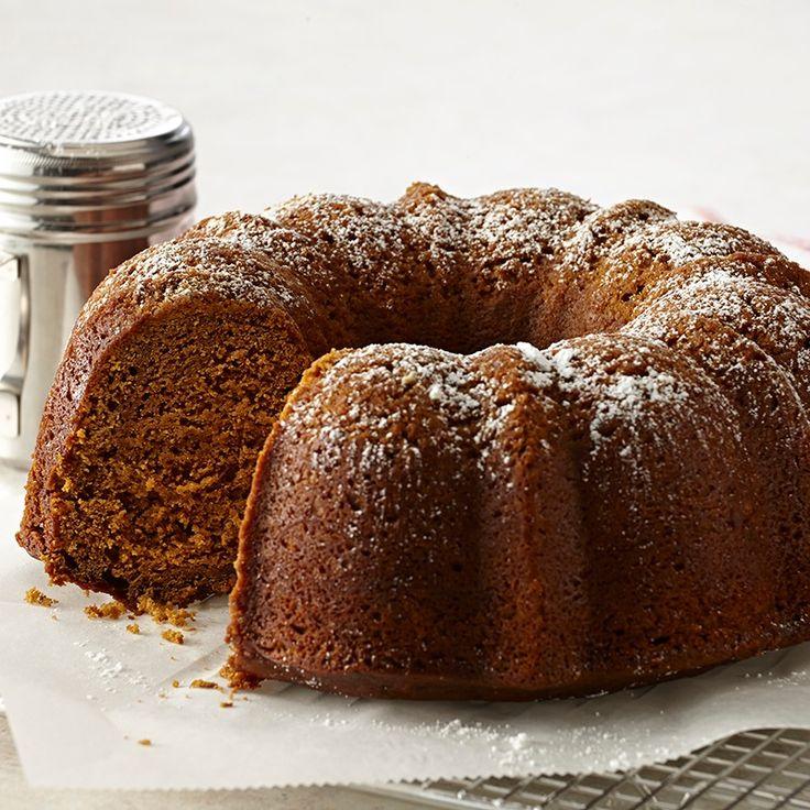 тыквенный пирог с имбирем