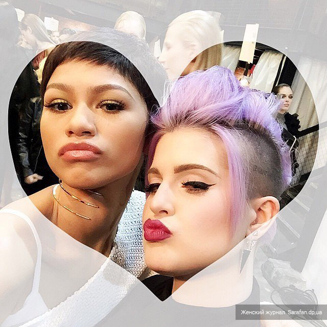 Kelly Osbourne and Zendaya, Келли Осборн и Зендая