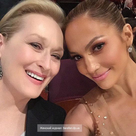 Meryl Streep and Jennifer Lopez, Мэрил Стрип и Дженнифер Лопез