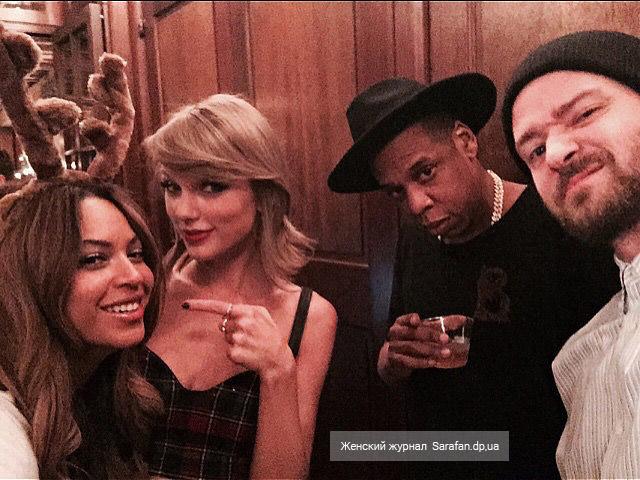 Selfie Beyonce Taylor Swift Jay Z Justin Timberlake